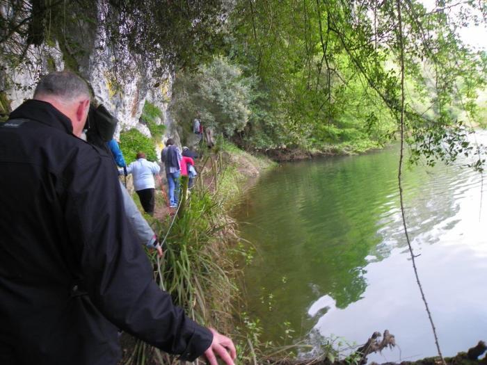Fotografía de la Sociedad Prehistórica de Cantabria