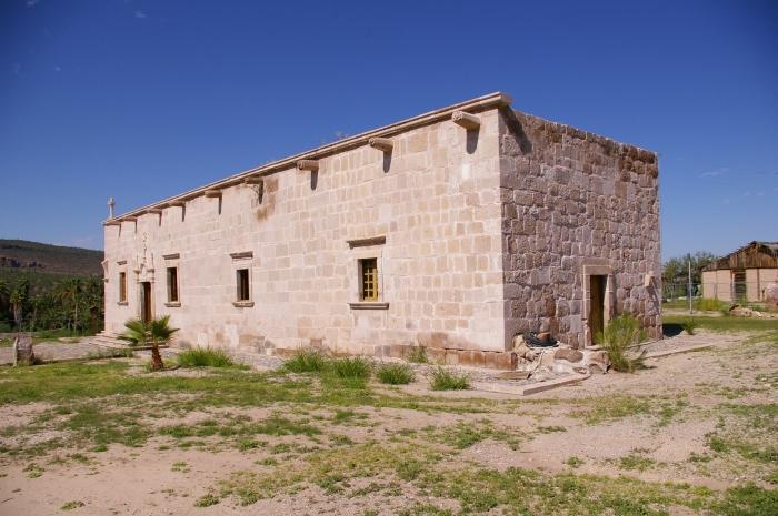 Fig. 3. Misión de Santa Gertrudis. Baja California.